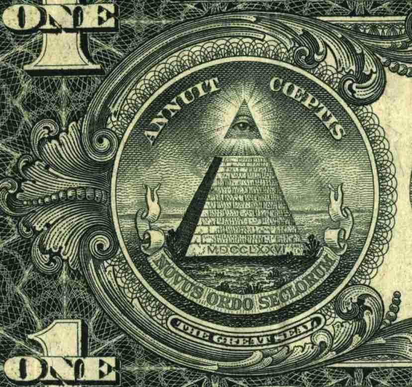 Novi svjetski poredak - prikladan moto na novčanici koja upravlja najvećim količinama svjetskih resursa.