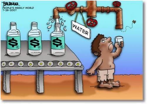 Može li itko proglasiti da ljudi nemaju osnovno pravo na vodu? U vladavini psihopata je sve moguće.