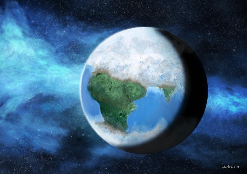 U slučaju novog ledenog doba, većina razvijenih zemalja na svijetu našla bi se u zoni djelomične ili potpune glacijacije.