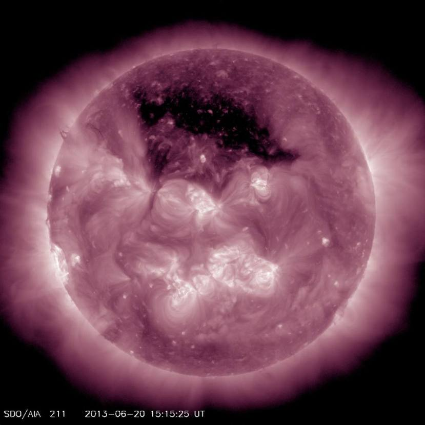 Interesantna fotografija Sunca od 20.06.2013.