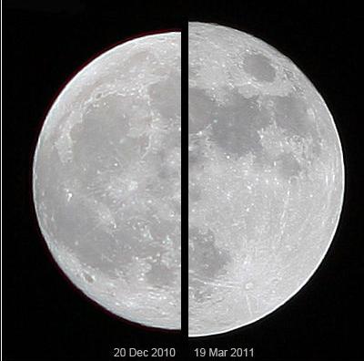 Super Mjesec u perigeju iz 2011. godine.
