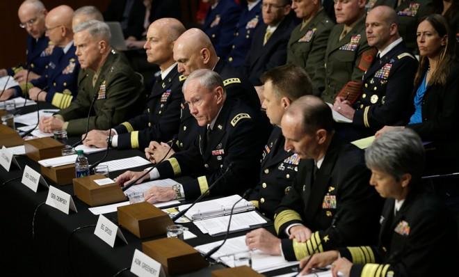 Vojni vrh s predstavnikom Martinom Dempseyem se otvoreno protivi usvajanju novog zakona koji će otvoreno procesuirati silovatelje u američkoj vojsci.