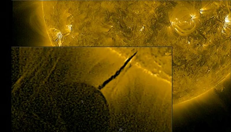 Internetom kruže brojne famozne priče glede istog događaja no sve vode na You Tube umjesto na HV koji direktno prenosi fotografije Sunca.