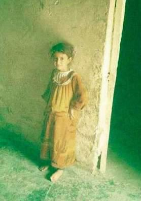 Nesretna Hamza snimljena kao šestogodišnjakinja.