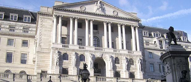 Nacionalna banka Engleske, je jedna od najstarijih državnih banaka, koje je tek nakon drugog svjetskog rata nacionalizirana.