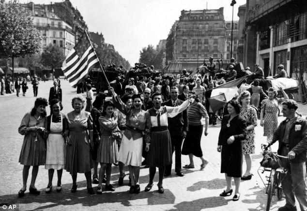 """Početna zahvalnost naroda Francuske se uskoro pretvorila u prijave brojnih silovanja koji su počinili američki """"osloboditelji."""""""