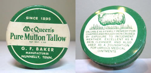Krema od ovčjeg loja koja se koristila za liječenje i čišćenje oštećene kože, a koristila se i za druge medicinske svrhe.