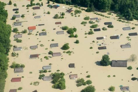 Dijelovi Njemačke i centralne Europe su se 05.06.2013., našli u još jednoj milenijskoj poplavi.