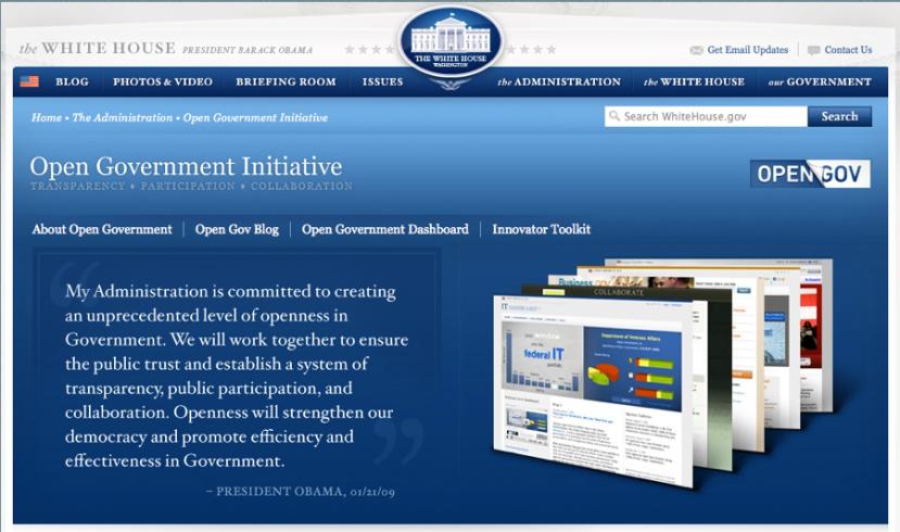 Obamina inicijativa otvorene vlade je obična floskula i nema veze s istinom.