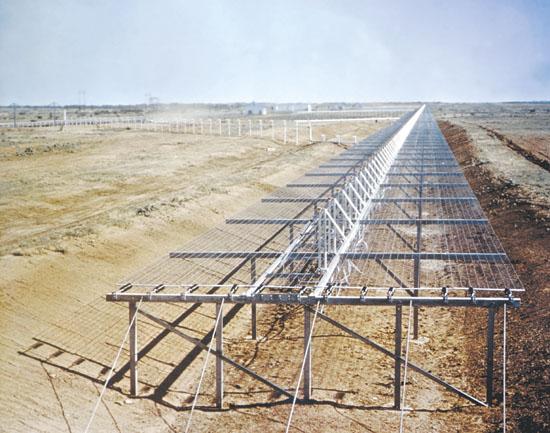 Dio Space Fence u jugozapadnom dijelu SAD-a, Fotografija vlasništvo ONR-a.