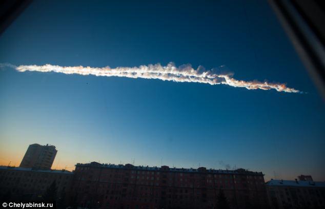 Sreća u nesreći, na Chelyabinsk je pao samo mali dio svemirske gromade.