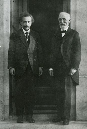 Albert Einstein i Hendrik A. Lorentz