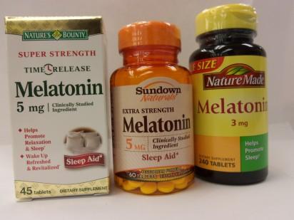 Studije su pokazale slabu učinkovitost sintetičkih suplemenata melatonina.