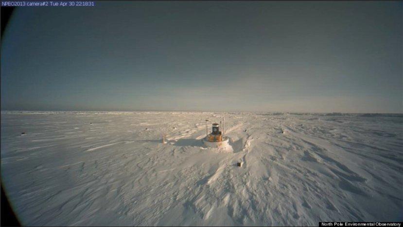 NOAA-ina znantvena plutača se uopće ne nalazi na sjevernom polu.