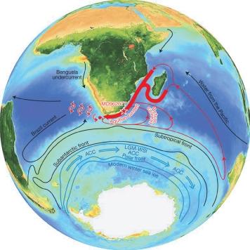 Agulhasova struja, je pored Gibraltara jedan od najvećih uzročnika dubokih virova - crnih rupa.