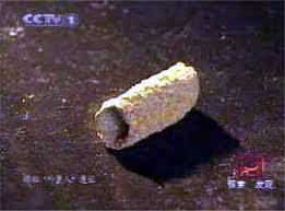 Dio cijevi iz Baigonga prikazane na kineskoj nacionalnoj televiziki.