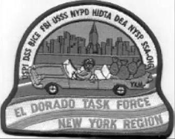 El dorado Task Force, posebna služba carine SAD-a koja se bavila istraživanjem pranja novca je također uništena u napadima 11.09.
