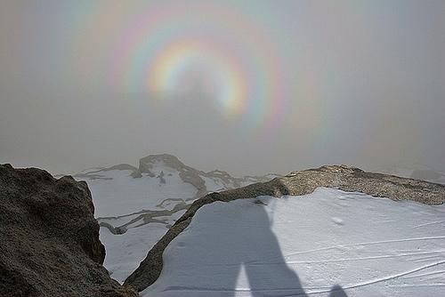 Predivna Brockenova duga snimljena nad Alpama.