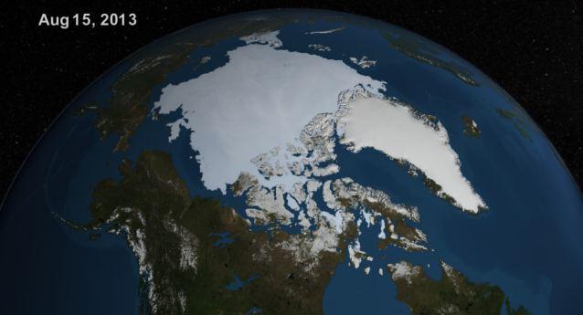 Led na sjevernom polu raste, pa ipak on danas tamo ne bi trebao postojati, ako se prate predviđanja zagovornika globalnog zatopljenja.