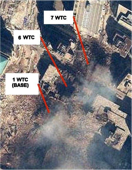 Obratite pažnju na mjesto gdje se nalazilo WTC 6.