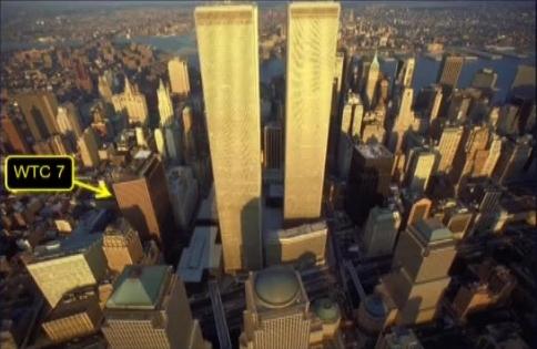 Lokacija nekadašnje zgrade WTC 7.