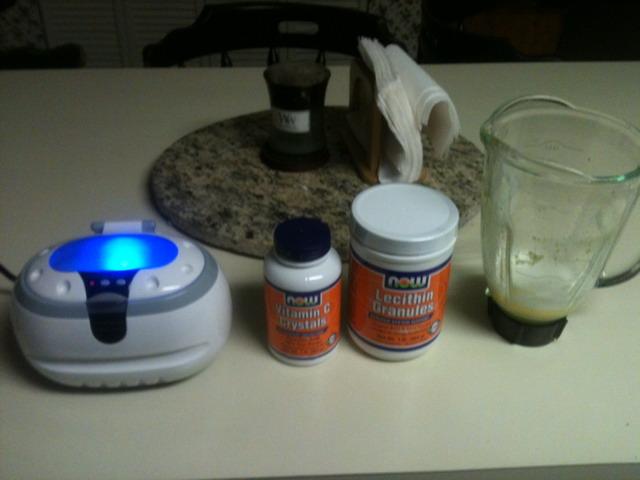 Sve na jednom mjestu za stvaranje liposomnog vitamina C.