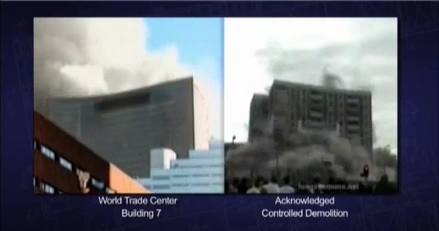 WTC 7 pada na isti način kao i zgrada koja je srušena eksplozivom.