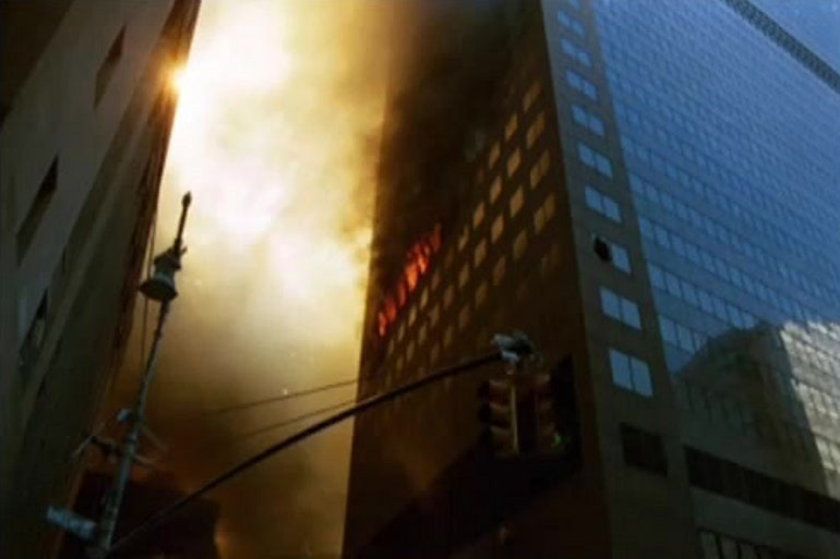 Požar u WTC-u 7 je bio lokalnog značenja i nije mogao srušiti zgradu.