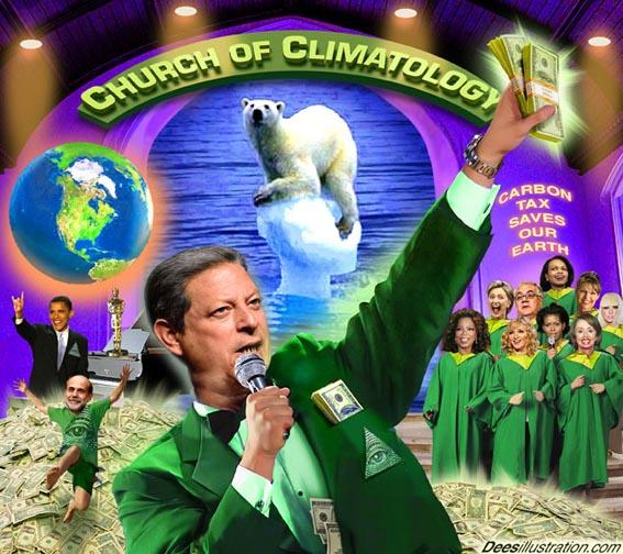 Al Gore je od politike globalnog zatopljenja stvorio biznis koji više nitko ne može ignorirati. Slika vlasništvo Dees Illustration.