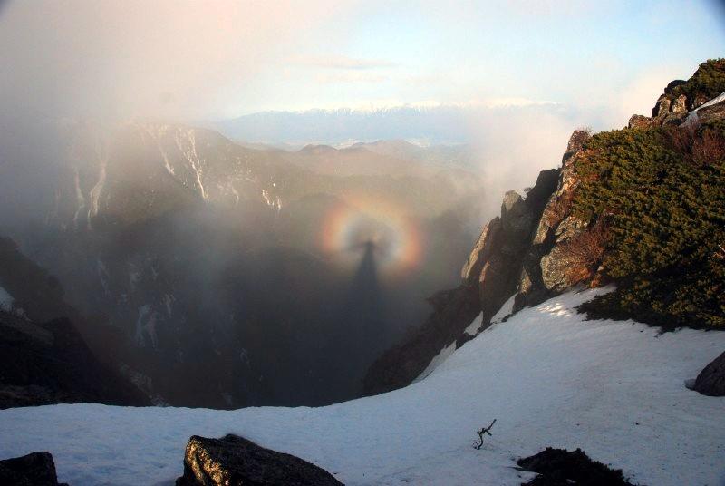 Još jedan prekrasan primjer planinske duge.