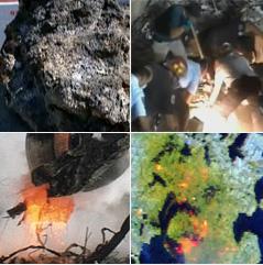 Na brojnim fotografijama ground zeroa se vidi rastaljena čelična konstrukcija palih WTC-a, no vlada SAD je odbila testirati ostatke na tragove nano eksploziva Thermita.