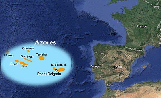 Azori, usamljeni otoci u središnjem dijelu sjevernog Atlantika su oduvijek bili povezani s legendom o Atlantidi.