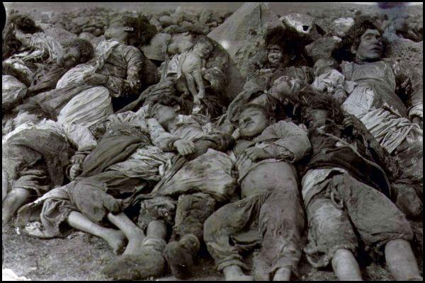 Genocid nad armencima, dobro planirano masivno ubojstvo golorukog i nezaštićenog naroda.