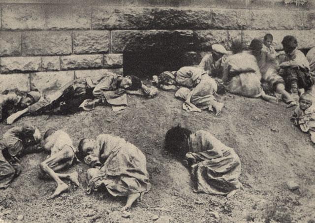 Iako se o broju armenskih žrtava i danas spore mnoge zemlje, činjenica je da je među žrtvama bilo najviše žene i djece. Turci su naročito uživali u izgladnjivanju malenih nezaštićenih armenaca koji su umirali mjesecima.