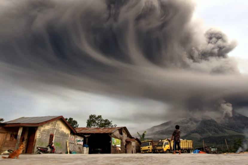 Erupcija u Indoneziji.