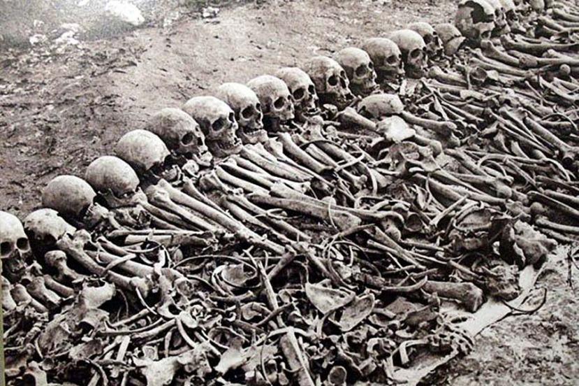 Kosti žrtava armenskog genocida iskopane iz samo jedne masovne grobnice.