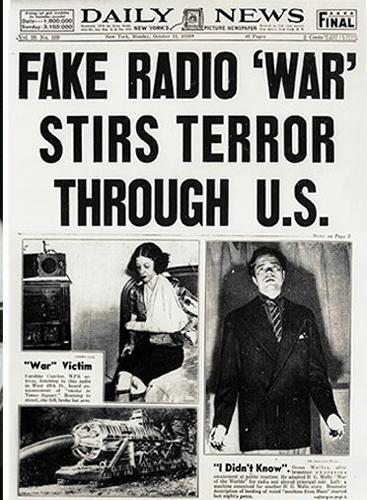 Rato svijetova - radop drama koja je stvorila paniku i masovnu histeriju u SAD- Mogu li ljudi naučiti lekcije i prestati biti naivni?