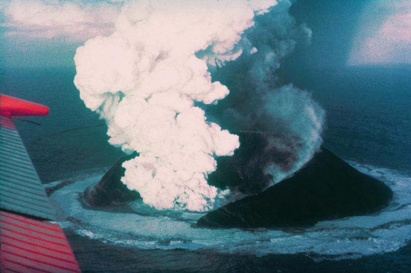 Nastanak otoka Surtsey.