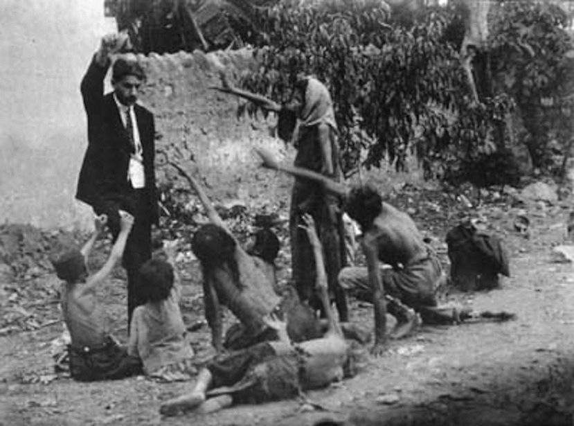 Turčin mami komadom kruha izgladnjelu armensku djecu.