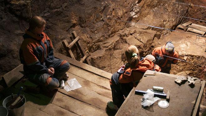 Špilja u Sibiru u kojoj su otkriveni denisovanski ostaci.