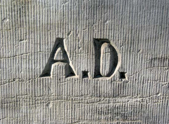 """Koncept kratica A.D. - Anno Domini ili """"Godine božje"""" dobiva poptuno drugačiji naglasak ako znamo kako je ta kratica nastala."""