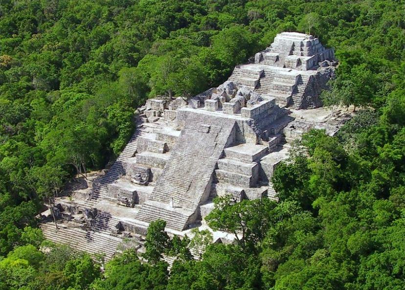 Majanski Calakmul, mjesto pronalska artefakata s potvrdom kontakta s vanzemaljcima.