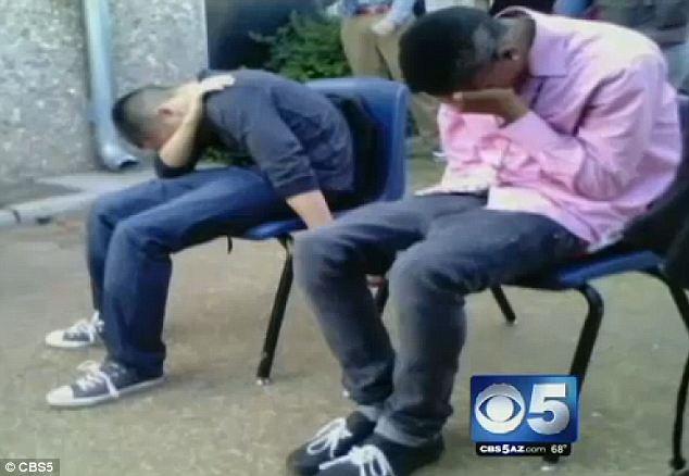 VIjest o neobičnoj kazni za učenike koji su se potukli, je uskoro našla mjesta na nacionalnim TV programima SAD-a.