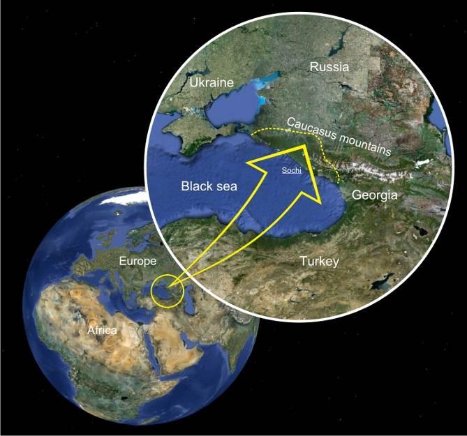 Sjeveroistok Crnog mora i okolica Kavkaza je područje s tisućama lokacija prastarih i misterioznih dolmena.
