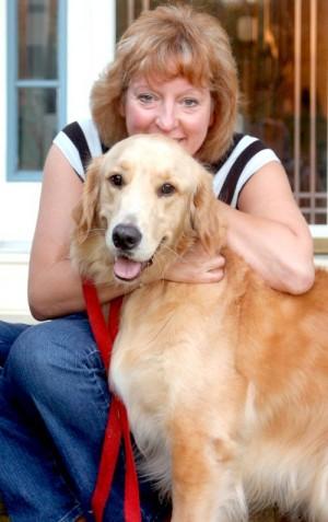 """Ljubav koja i dalje traje, Toby sa svojom """"mamom"""" Debbie."""
