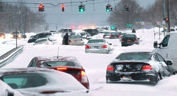 Zime na istočnom dijelu SAD-a postaju sve oštrije i nepredvidljivije.