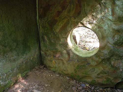 Savršeno oblikovana ulaz u kriptu dolmena.