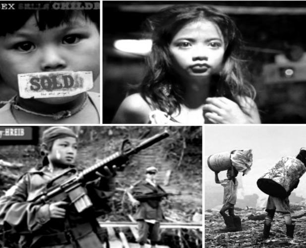 Djeca se i dan danas izrabljuju, bilo kao seksualno, radno ili ratničko roblje,