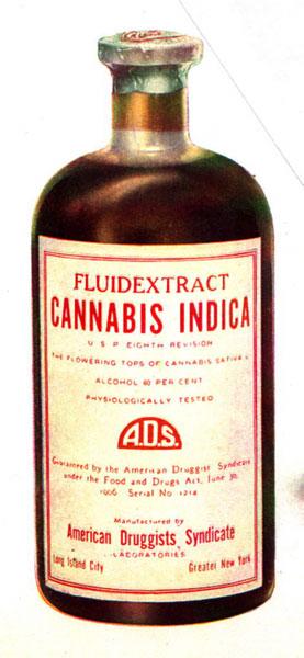 Ekstrakt marihuane od vrhova u cvatu, testirani i odobreni lijek iz 1906. godine!