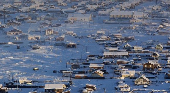 Oymyakon, najhladnije naseljeno mjesto na svijetu.